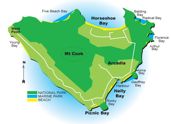 Bus Magnetic Island Map